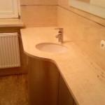 blat granitowy pod umywalka