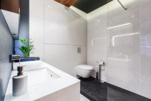 Kamień naturalny w aranżacji łazienki